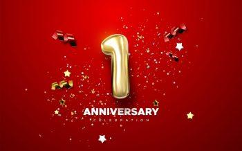 1 year celebration